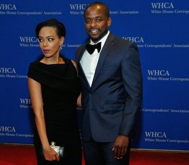 Actor Dule Hill and guest attend the 2016 White House Correspondences' Association Dinner at the Washington Hilton Hotel on Saturday, April 30, 2016 in Northwest. /Photo by Patricia Little @5feet2