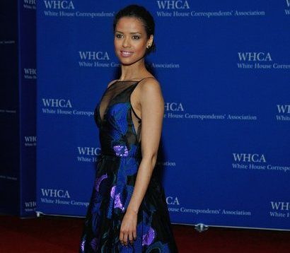 Actress Gugu Mbatha-Raw attends the 2016 White House Correspondences' Association Dinner at the Washington Hilton Hotel on Saturday, April 30, 2016 in Northwest. /Photo by Patricia Little @5feet2