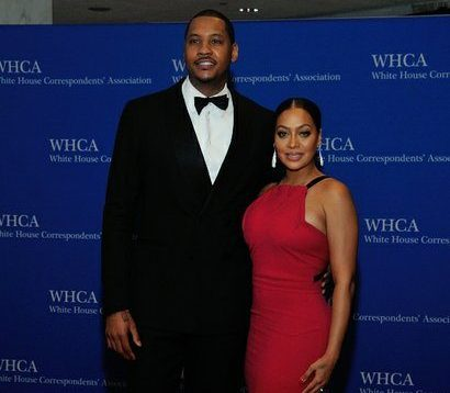 NBA player and TV Personality Carmelo and La La Anthony attend the 2016 White House Correspondences' Association Dinner at the Washington Hilton Hotel on Saturday, April 30, 2016 in Northwest. /Photo by Patricia Little @5feet2