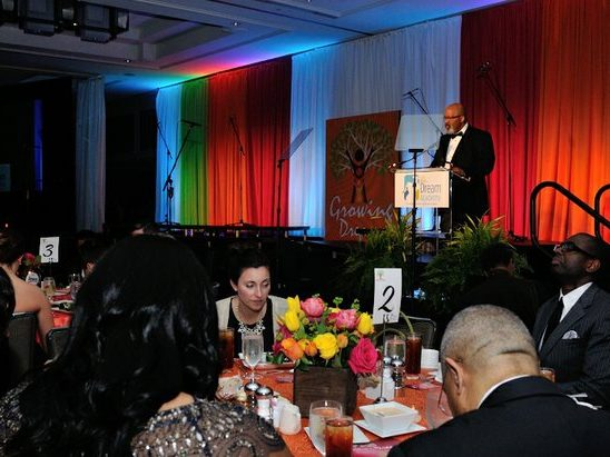 Dr. Leslie Pollard, president, Oakwood University, delivers invocation during the 15th Annual Power of a Dream Gala on Tuesday, May 3, 2016 at the Renaissance Hotel in Northwest. /Photo by Patricia Little @5feet2