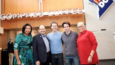 Photo of Compass Coffee Opens in Convention Center