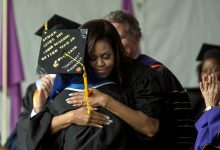 Photo of Michelle Obama in Final Speech: 'I Hope I've Made You Proud'