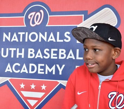 Rocco Gilbert, a Nationals Academy youth /Photo by Travis Riddick @actor_TR
