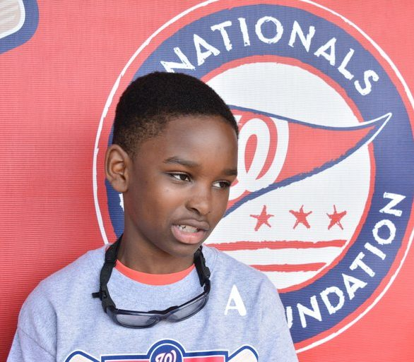 Langston Speed, a Nationals Academy youth /Photo by Travis Riddick @actor_TR