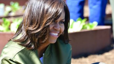 Photo of FIRST LADY MICHELLE OBAMA'S FINAL WHITE HOUSE GARDEN PLANTING
