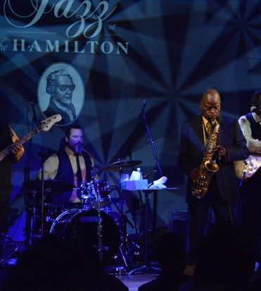 DC JazzFest 2016: Maceo Parker, and his historic band play at DC JazzFest at the Hamilton Live on Friday June 17 2016 in Northwest DC. /Photo by Roy Lewis