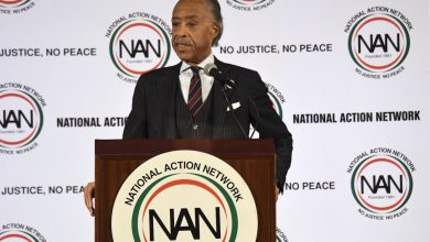 Photo of Sharpton, National Action Network Host Annual MLK Breakfast (Photos by Travis Riddick)