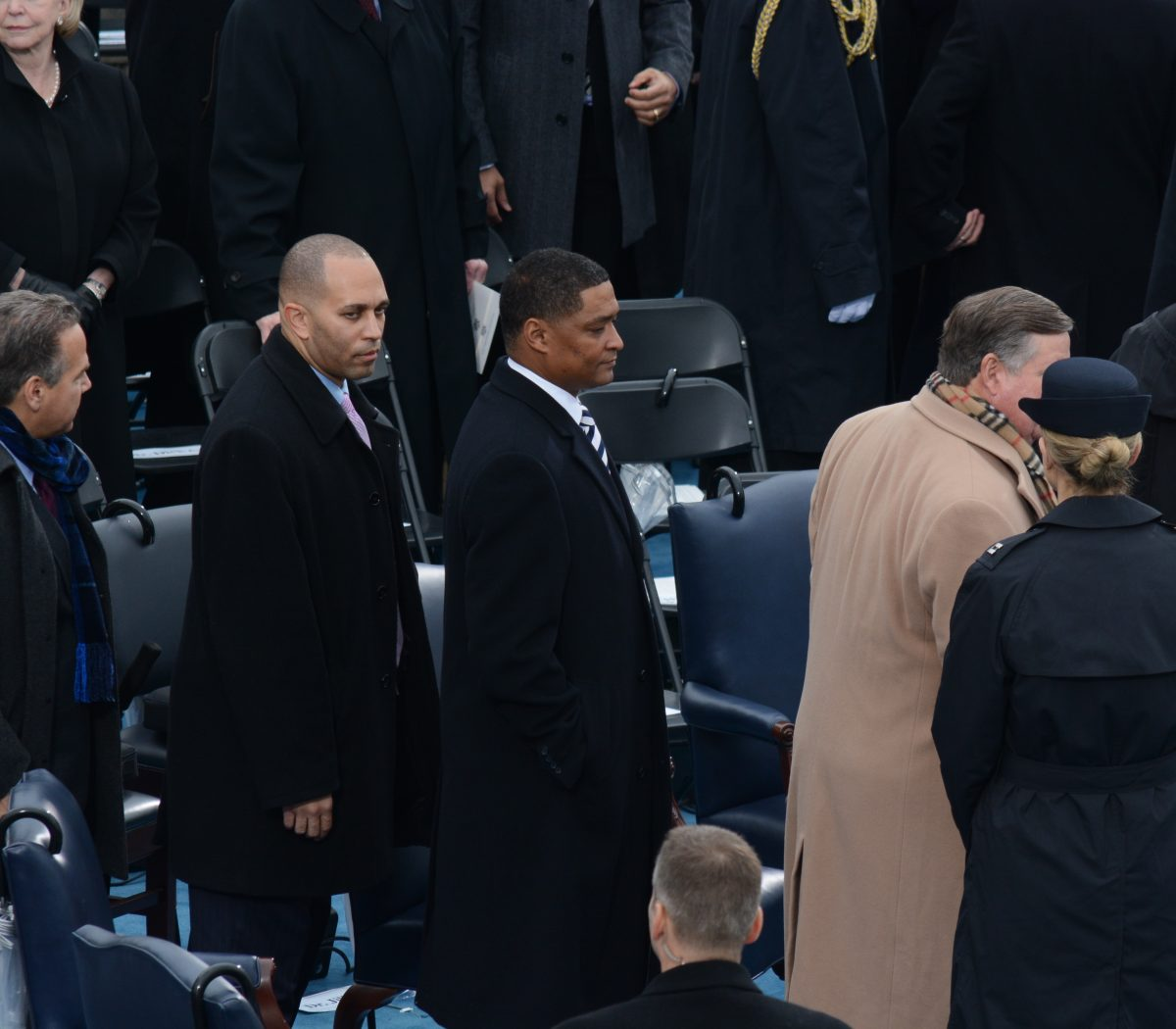 Congressman Cedric L. Redmond (D-La.) arrives at the 58th Presidential Inauguration on January 20, 2017. /Photo by Roy Lewis