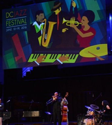 "Howard DC Jazz Awards: NEA Jazz Master Bennie Golson, tell his ""Killer Joe Story"" to the people at A Night at The Kennedy Center: DC JazzFest Salutes Howard University Jazz concert and awards, in the concert hall on Monday June 13 2016 in Southwest DC. /Photo by Roy Lewis"