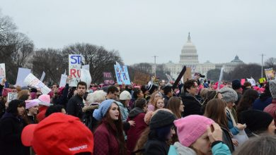 Photo of Women March on January 21, 2017 (Photos by Roy Lewis)