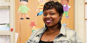 Gina Ughiovhe, kindergarten teacher at John Tyler Elementary School in Southeast /Courtesy of DCPS via Facebook