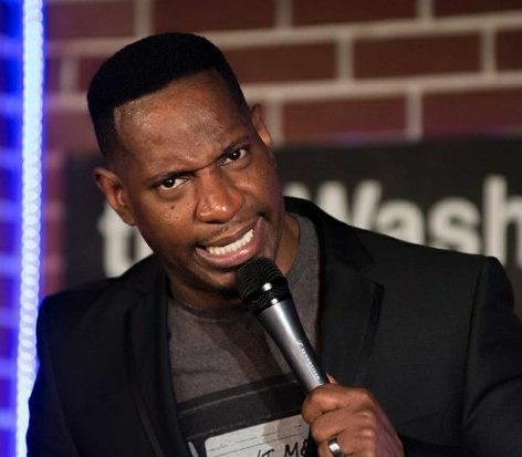NBC's Last Comic Standing Season 8 winner, Rod Man, performs his stand-up routine about choosing the right mate at the DC Improv, Friday, April 15, 2016 in northwest. /Photo by Patricia Little @5feet2