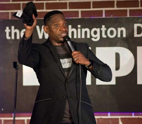 NBC's Last Comic Standing Season 8 winner, Rod Man, performs his stand-up routine about shopping at CVS at the DC Improv, Friday, April 15, 2016 in northwest. /Photo by Patricia Little @5feet2