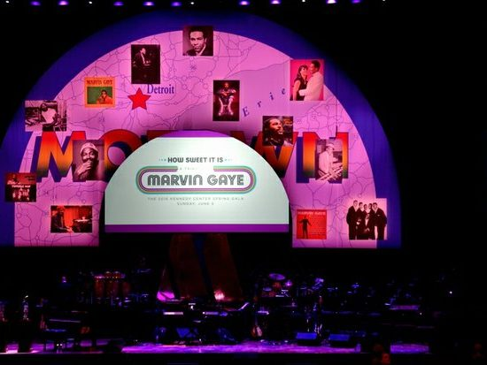 """The Kennedy Center 24th Annual Spring Gala entitled, """"How Sweet It Is: A Tribute to Marvin Gaye,"""" took place Sunday, June 5th at 8:00 p.m. in Northwest. /Photo by Patricia Little"""