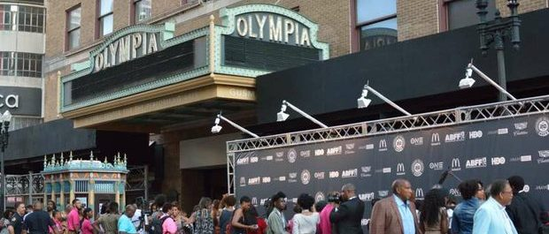 Opening night at the Olympia Theatre during the 20th Annual American Black Film Festival on Friday, June 17 in Miami, FL. /Photo by Patricia Little @5feet2
