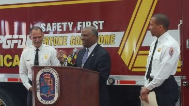Photo of Prince George's Fire Chief Announces Retirement