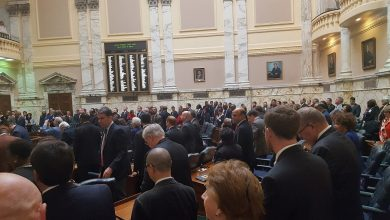 Photo of State Delegate Resigns at Opening of Md. General Assembly