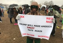 Photo of Demonstrators Brave Weather for March, Rally on Eve of Trump Inauguration