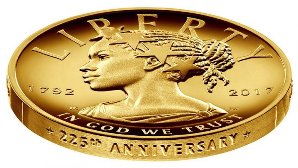 Photo of Black Woman to Portray Lady Liberty on U.S. Coin