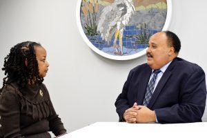 Martin Luther King III, Denise Rolark Barnes