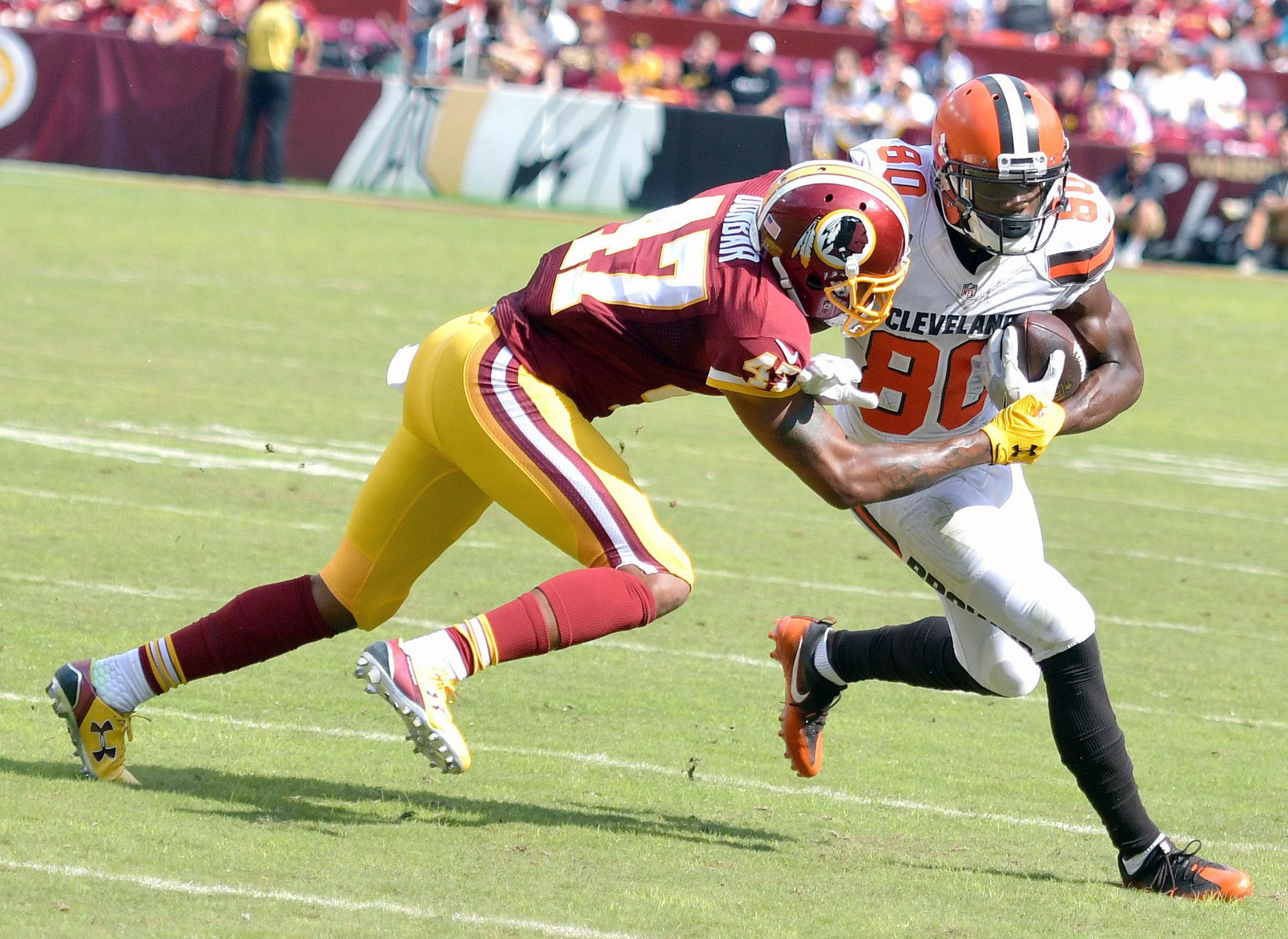 Photo of Redskins Top Browns for 1st Home Win