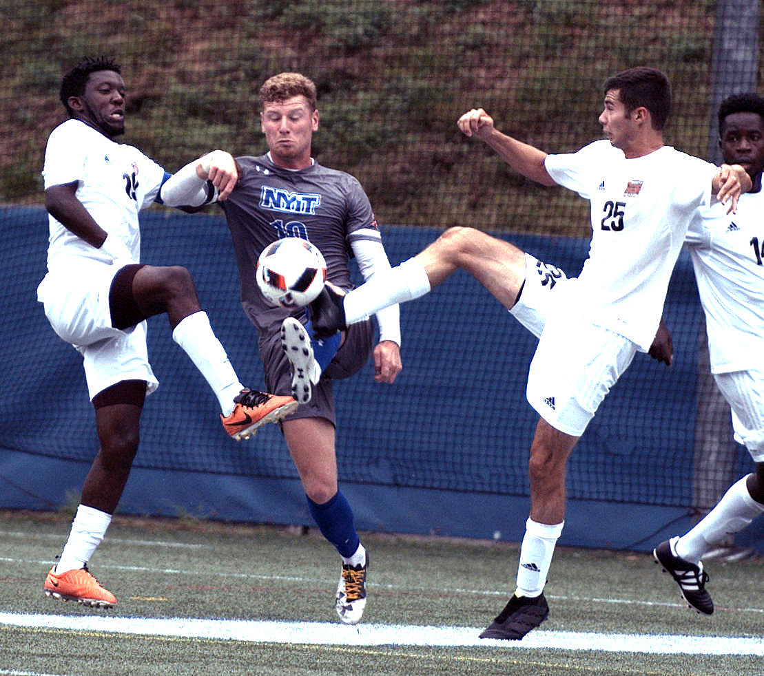 Photo of NYIT Blanks UDC in Men's Soccer