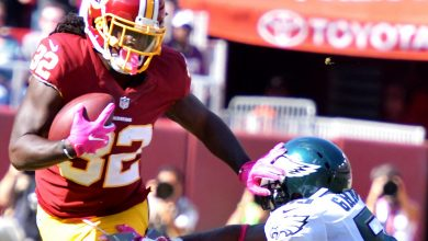 Photo of Redskins Hang on for Win Over Eagles