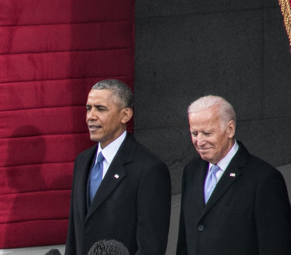 President Obama and Vice President Biden arrive at the Inauguration of the 45th President. /Photo by Shevry Lassiter
