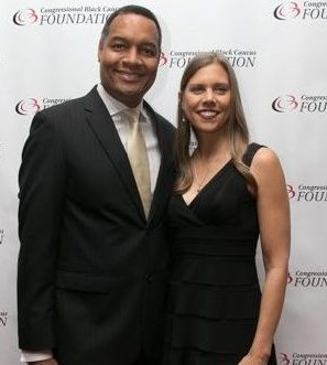 Walking the red carpet at the CBCF 20th annual Celebration of Leadership in the Fine Arts at Sidney Harman Hall in Northwest on Wed., September 14.