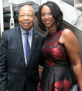 Rep. Elijah Cummings (D-MD, 7th District) with his wife Maya at the CBCF 20th annual Celebration of Leadership in the Fine Arts at Sidney Harman Hall in Northwest on Wed., September 14.
