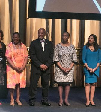 CBCF spouses serve as hosts of the CBCF 20th annual Celebration of Leadership in the Fine Arts at Sidney Harman Hall in Northwest on Wed., September 14.