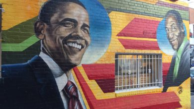 Photo of Ben's Chili Bowl Paints Over Mural of Cosby, Obama