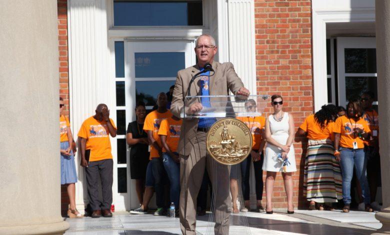 Interim D.C. Public Schools Chancellor John Davis. COURTESY OF D.C. PUBLIC SCHOOLS