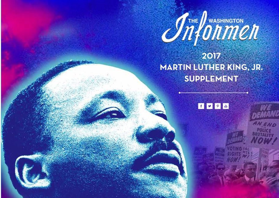 Photo of Washington Informer 2017 Martin Luther King Jr. Supplement