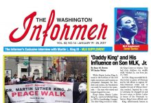 Photo of Washington Informer Issue, January 19, 2017