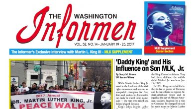 Photo of Washington Informer Issue, January 19, 2017