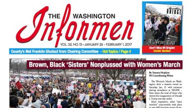 Photo of Washington Informer Issue, January 26, 2017