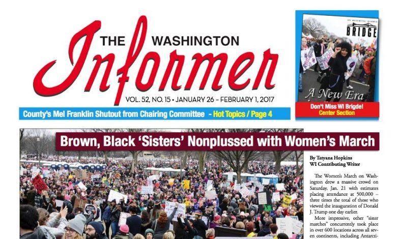 Washington Informer Digital Edition, January 26, 2017