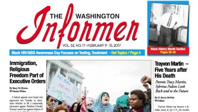 Photo of Washington Informer Issue, February 9, 2017