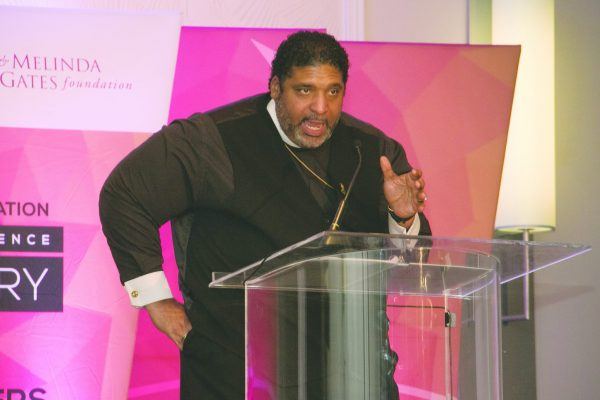 Photo of Rev. Barber Keynote Speaker for CBCF Phoenix Awards Dinner