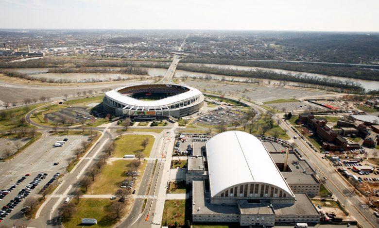RFK Stadium in southeast D.C.
