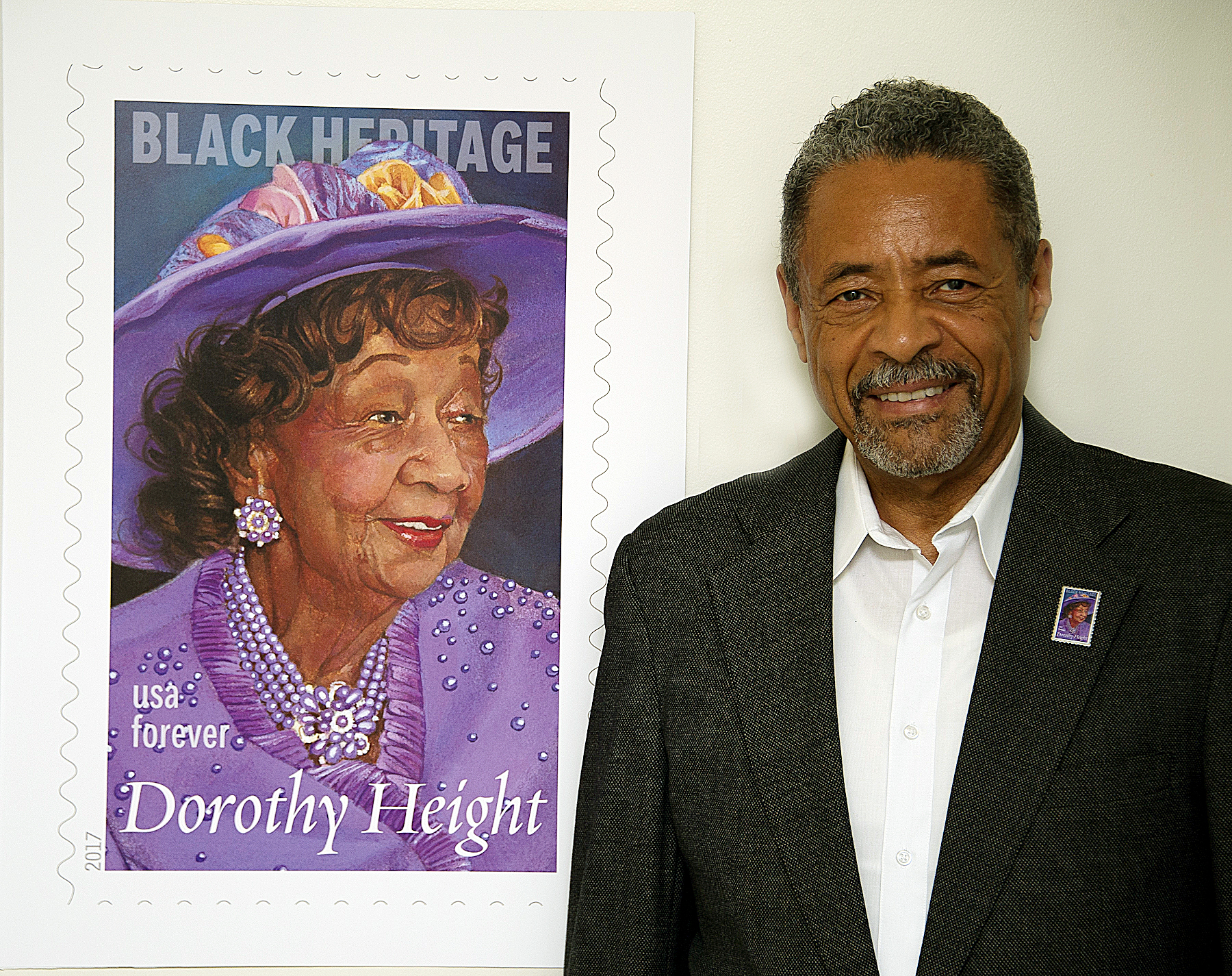 Photo of Lateef Mangum Photo Selected for Dorothy Height Stamp