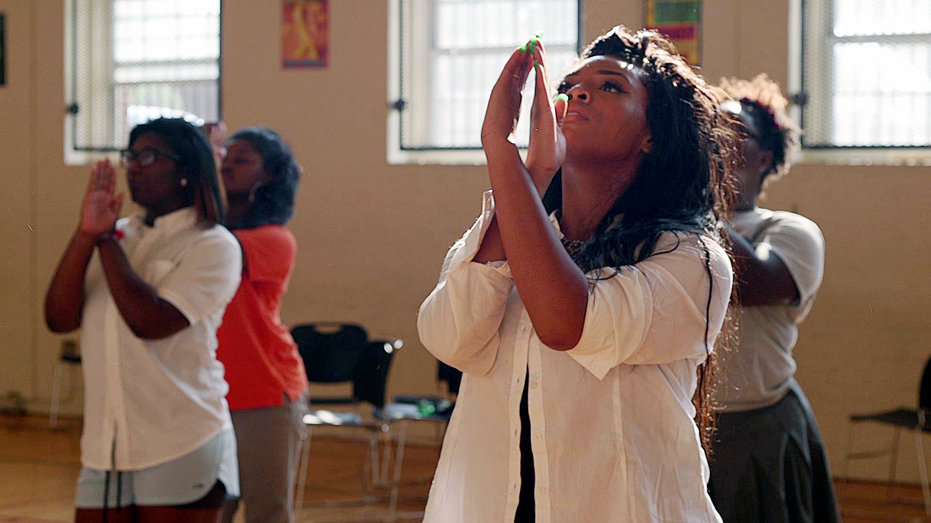 The students from the Baltimore Leadership School for Young Women in a new film about their graduation (Courtesy photo)