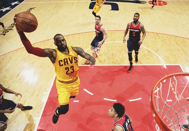 Photo of LeBron, Cavs End Wizards' Home Win Streak in OT Thriller