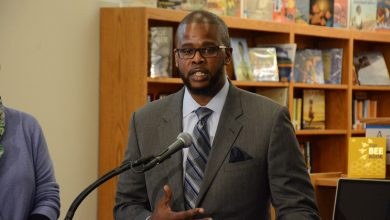 Photo of Antwan Wilson, Chancellor of DC Public Schools (Photos by Roy Lewis)