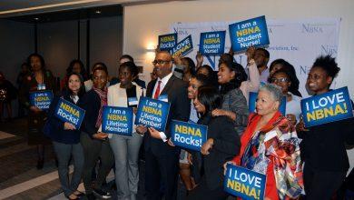Photo of Black Nurses Storm Capitol Hill