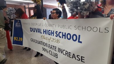 Photo of Prince George's Schools CEO, Staff Tour Schools, Celebrate High Graduation Rates