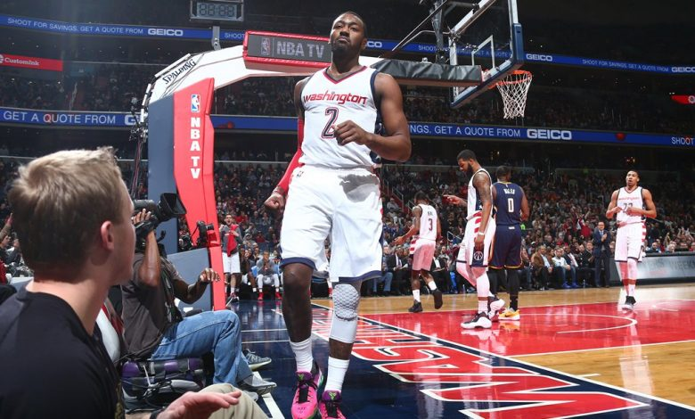 John Wall and the Washington Wizards defeated the Indiana Pacers 112-107 at Verizon Center in D.C. on Feb. 10. (Courtesy of the Washington Wizards via Twitter)