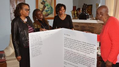 Photo of D.C. Women's Group Sends Message to Former First Lady