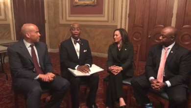 Photo of VIDEO: Sens. Harris, Booker and Scott Host Black History Month Discussion